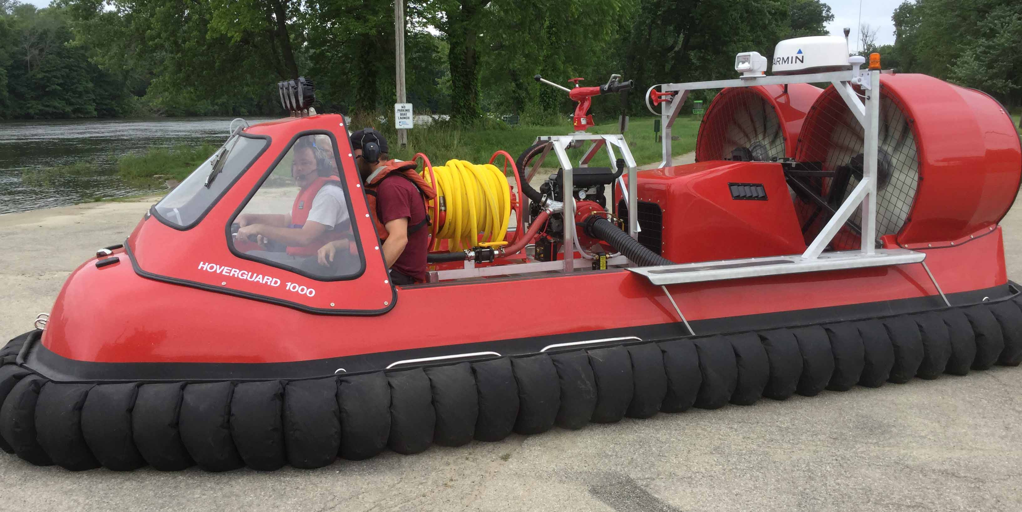 Hovertechincs Hoverguard 1000 hovercraft