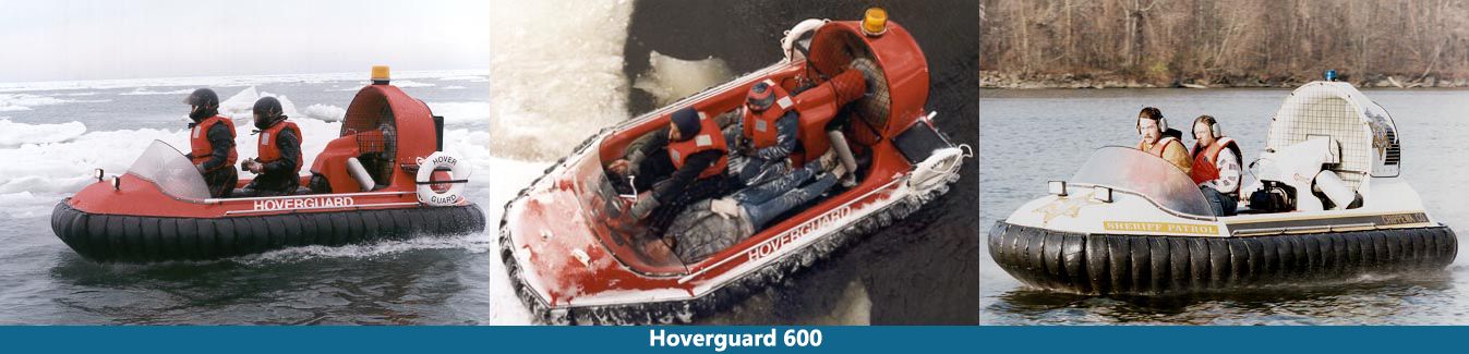 Hovertechincs Hoverguard 600 hovercraft
